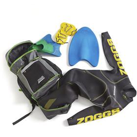 Zoggs Triathlon Bag Black/Grey/Green